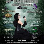 Dames Of Darkness Festival @ The Robin, Bilston – Sunday 9th May 2015
