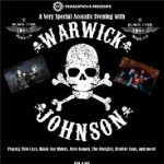Ricky Warwick & Damon Johnson @ The Iron Road, Evesham – Tuesday 22nd September 2015