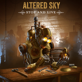 Altered Sky - Stop And Live EP Cover