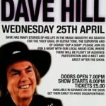 An Evening With Dave Hill @ P.M.T. Birmingham – 25th April 2012