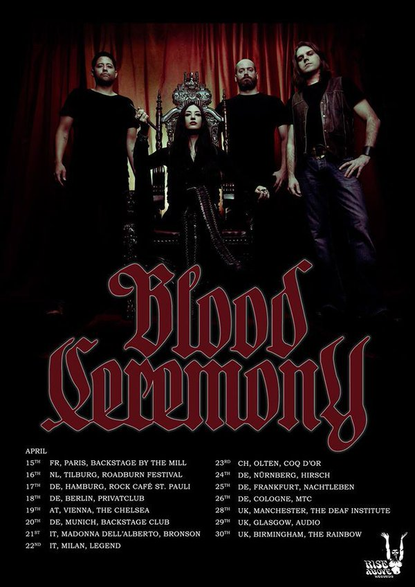 Blood Ceremony Tour 2016