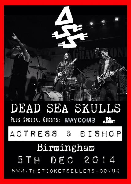 Dead Sea Skulls XMAS Poster NEW