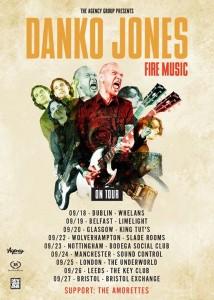 Danko Jones tour poster