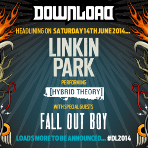 Linkin Park and Fall Out Boy confirmed for Download 2014 | The