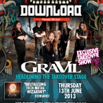 GraViL to headline the Takeover stage at Download Festival 2013
