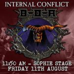 Bloodstock 2017 - Interview with Internal Conflict
