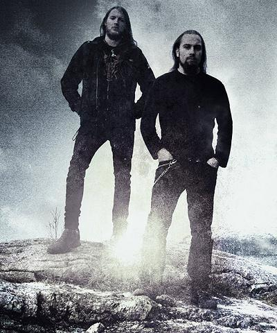 Simon Larsen and Aage Krekling Iskald
