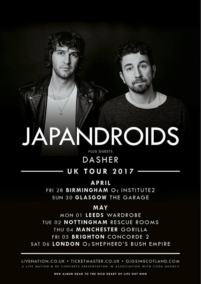 Japandroids UK 2017