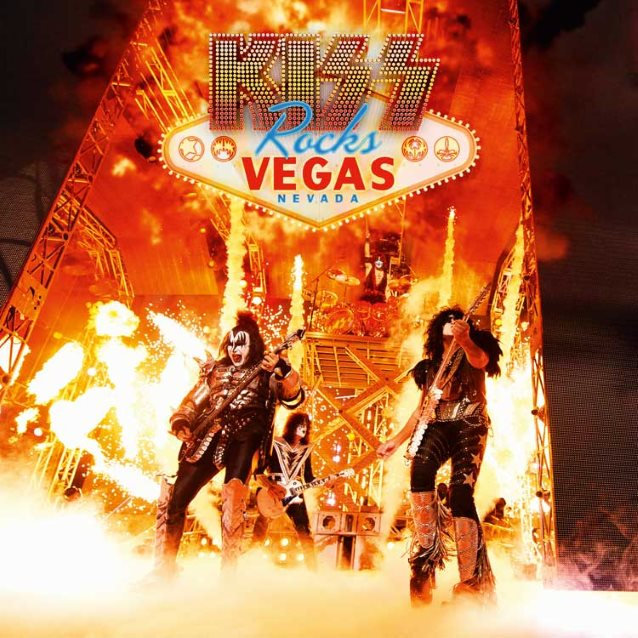 Kiss Rocks Vegas 2016