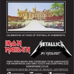Iron Maiden and Metallica confirmed for Sonisphere 2014
