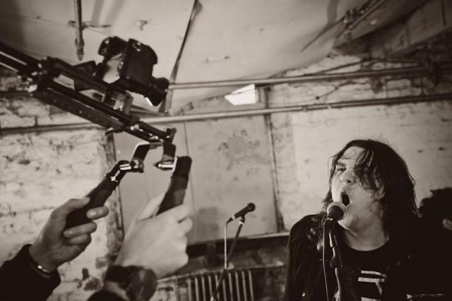 Liberty Lies Video shoot 1