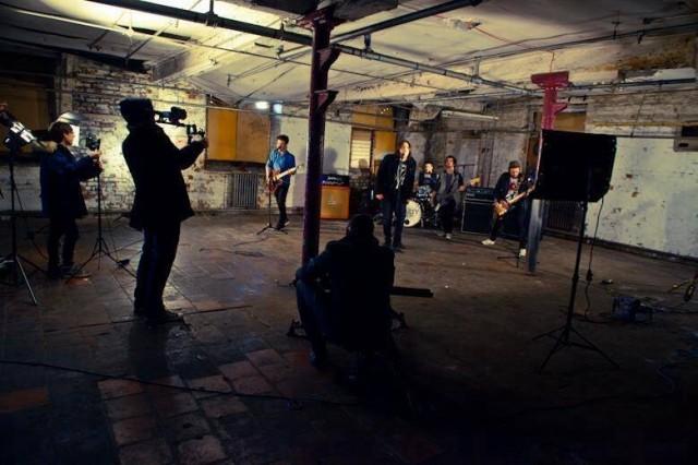 Liberty Lies Video shoot 3