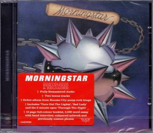 MORNINGSTAR - Morningstar [Rock Candy remaster +2] front