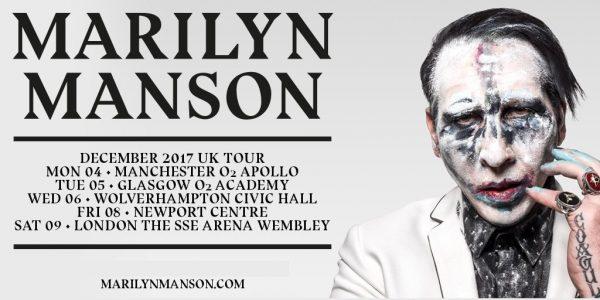 Marilyn Manson - UK 2017