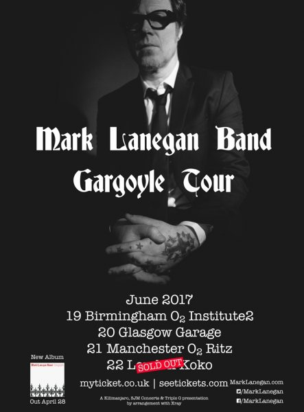 Mark Lanegan UK Tour 2017