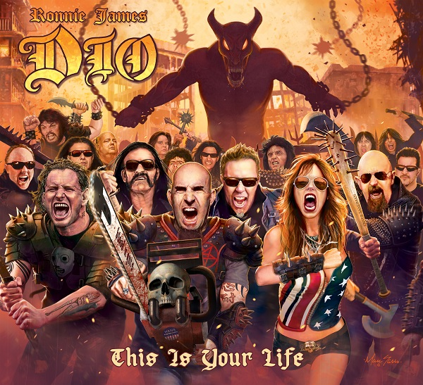 Ronnie James Dio Cover Art