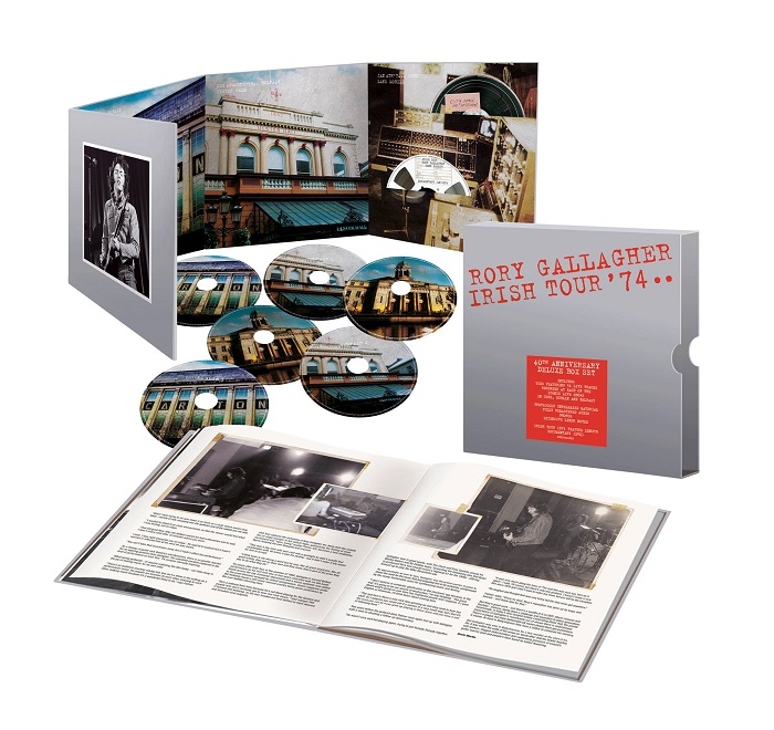 Rory Gallagher - Irish Tour 74 package