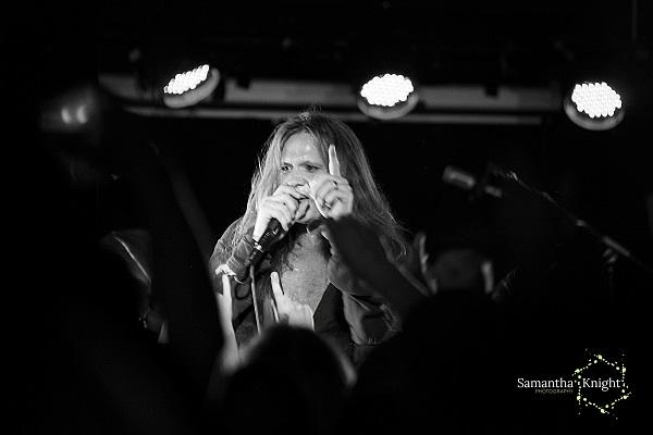 Sebastian Bach - Slade Rooms July 2014 - 4