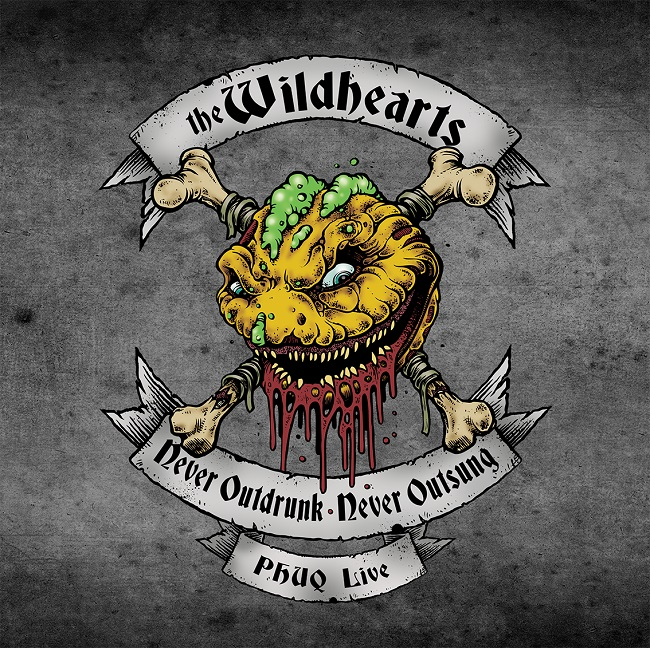 The Wildhearts – Never Outdrunk Never Outsung PHUQ Live