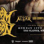 Venom Prison + Corrupt Moral Altar + God Complex @ The Flapper, Birmingham – Monday 13 November 2017