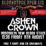 Bloodstock 2017 - Interview with Ashen Crown