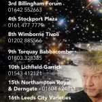 John Lodge & The 10,000 Light Years Band + The Tom Walker Trio @ Garrick Theatre, Lichfield - Saturday, 10th September 2016