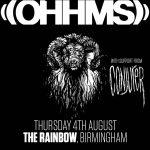 Ohhms + Conjurer + Sealclubber @ The Rainbow, Birmingham - Thursday 5 July 2016