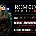 Romeo's Daughter + Hand Of Dimes @ Eleven, Stoke-On Trent - Saturday, 4th November 2017